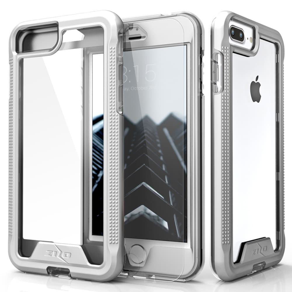 SILVER IPHONE 7 PLUS ION CASE