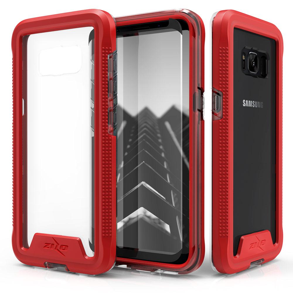 RED GALAXY S8 CASE