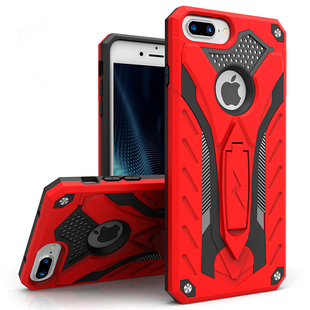 RED IPHONE 7 PLUS STATIC CASE