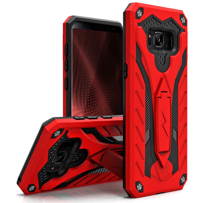 RED GALAXY S8 STATIC CASE