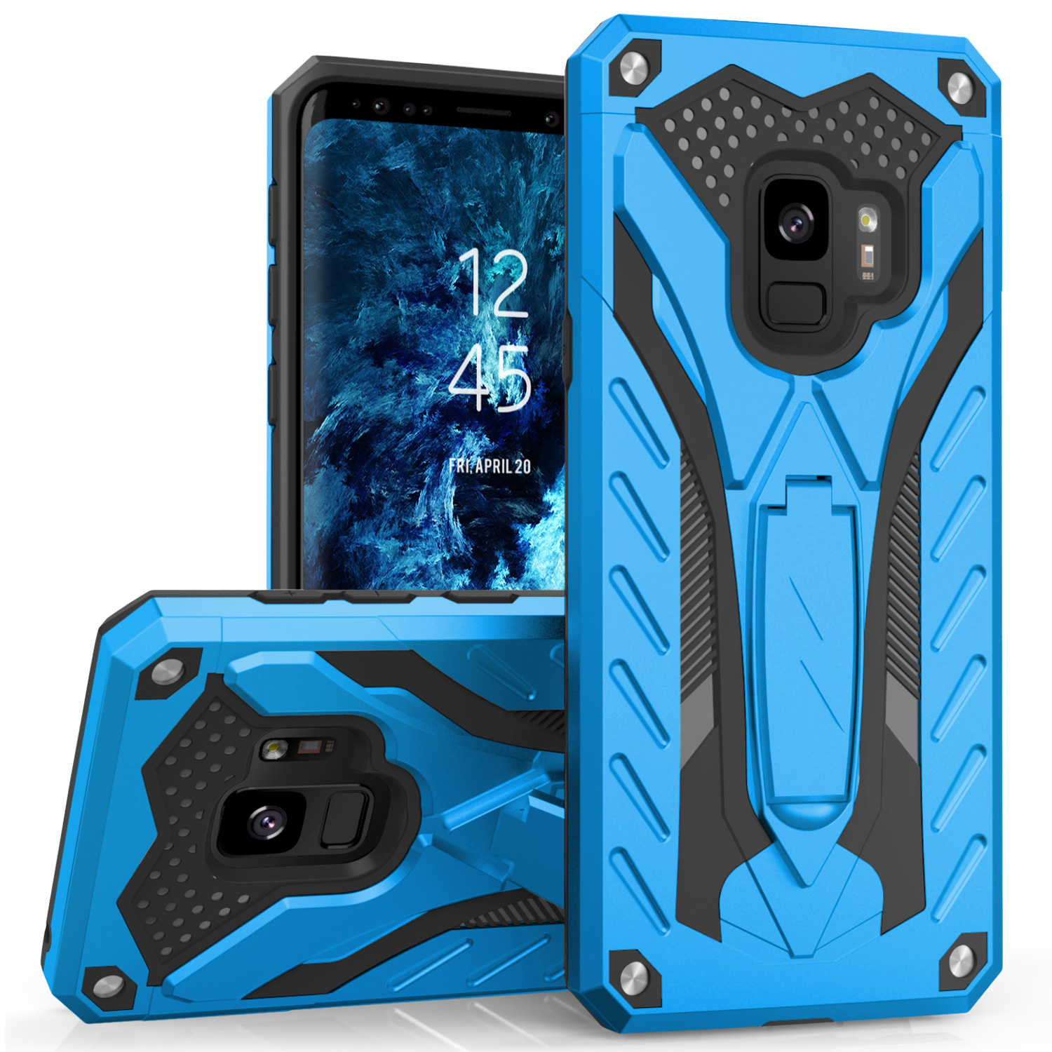 BLUE GALAXY S9 CASE