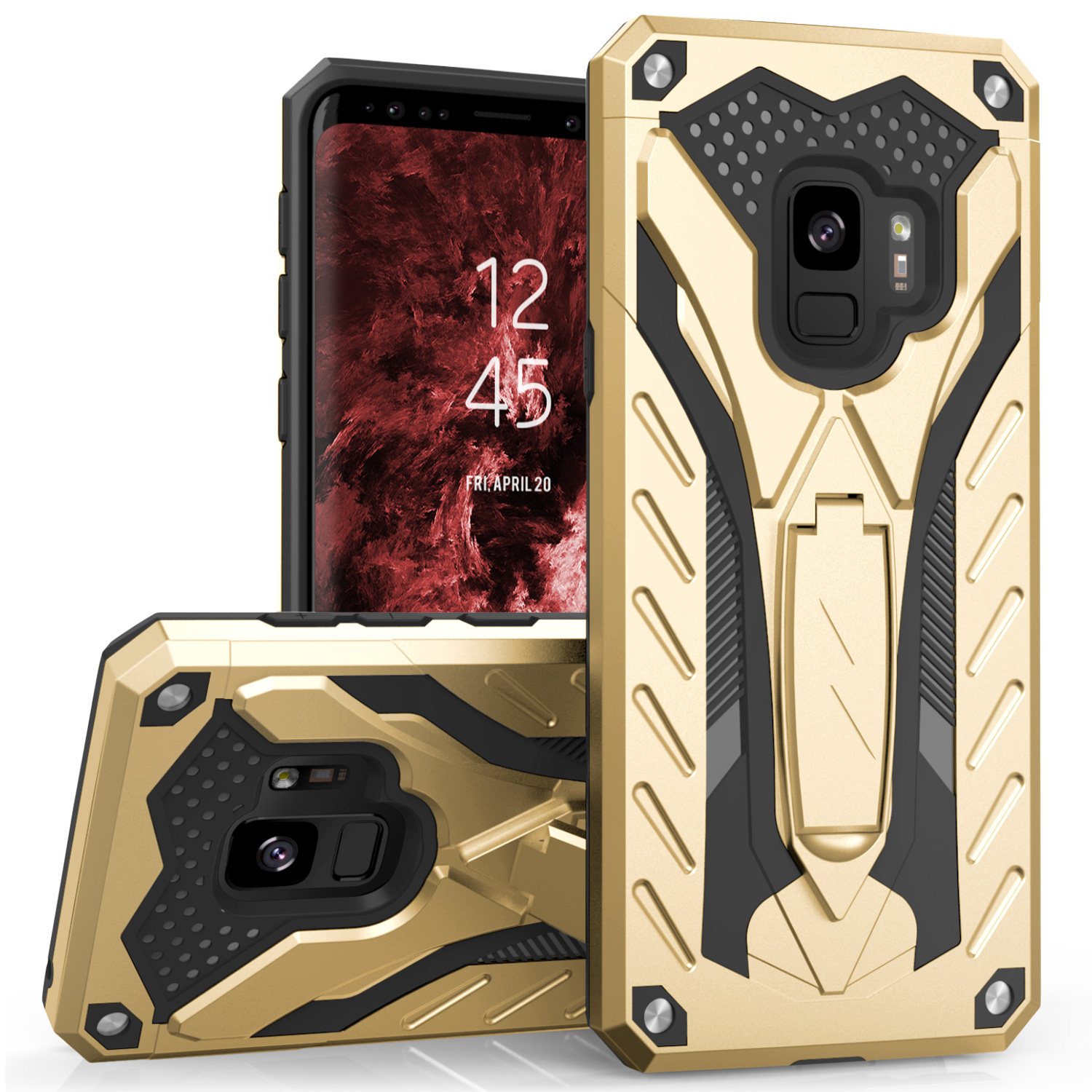 GOLD GALAXY S9 CASE