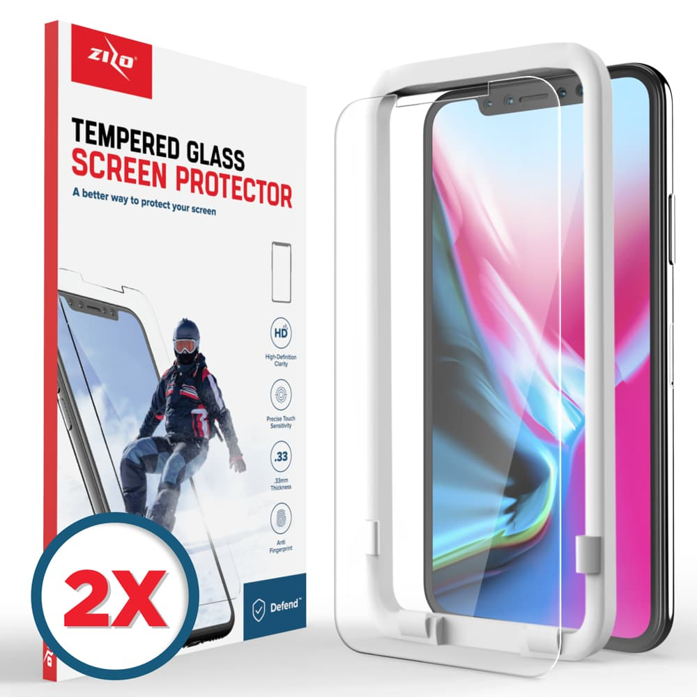 IPHONE X - 2-PACK LIGHTNING SHIELD