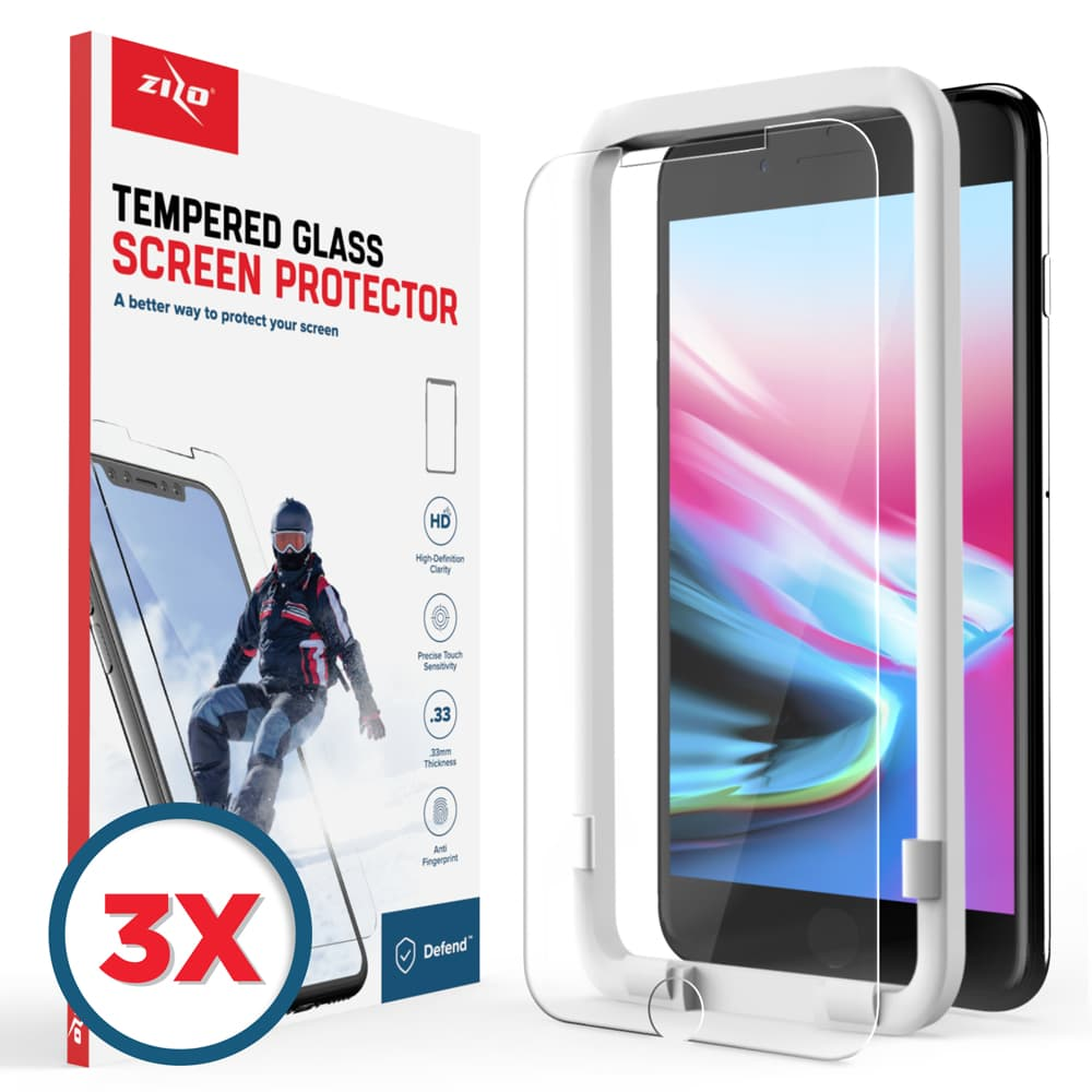 IPHONE 8 3 PACK SCREEN PROTECTOR