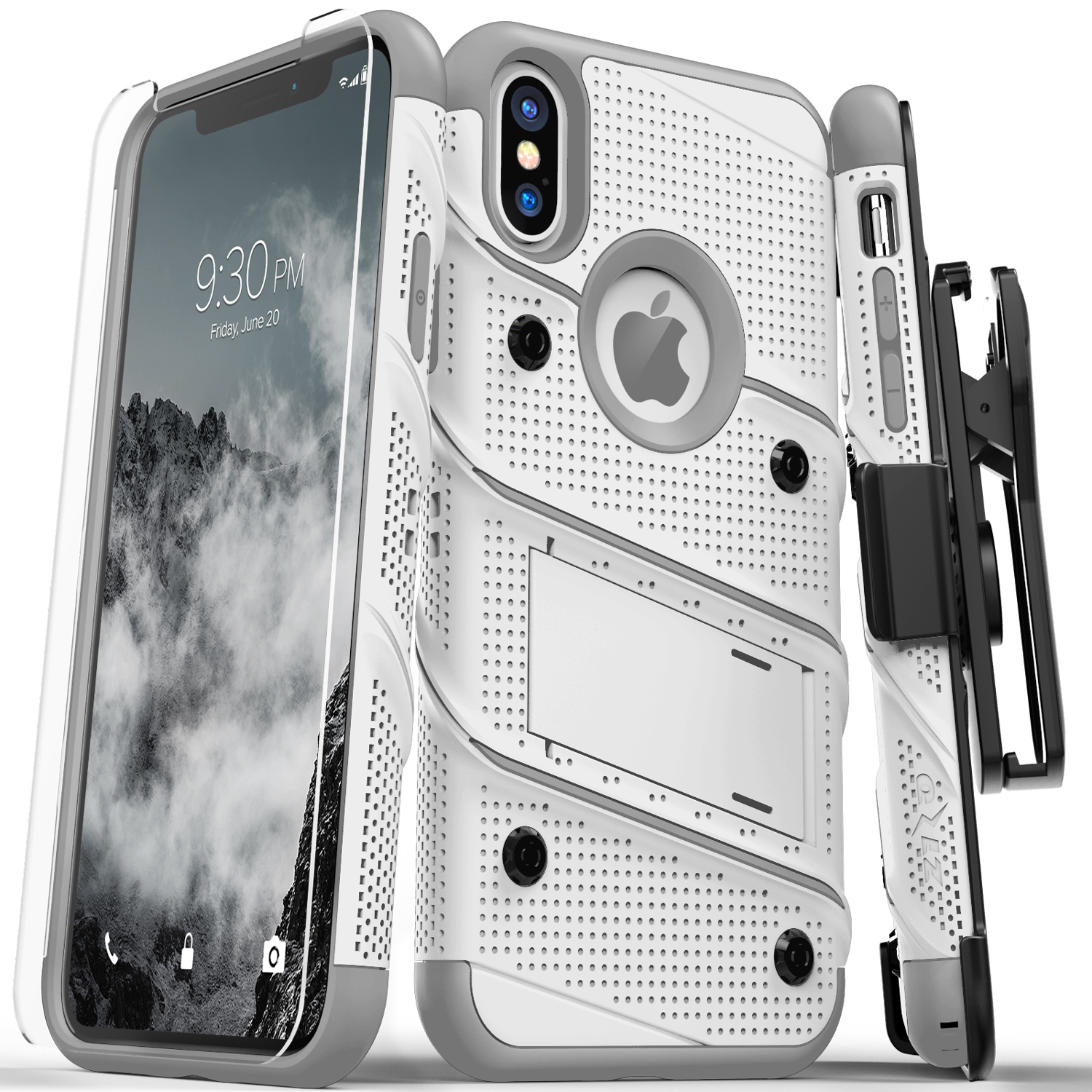 WHITE IPHONE X CASE