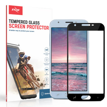 Zizo Full Glue Glass Samsung Galaxy Amp Prime 3