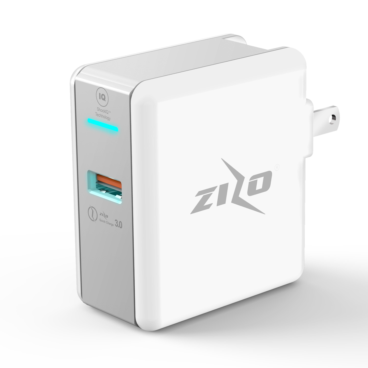ZIZOCHARGE USB TRAVEL WALL CHARGER